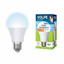 <b>Светодиодная лампа Uniel LED</b> E27 <b>7Вт</b> холодный UL-00001065 ...