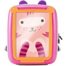 benbat детский рюкзак цвет розовый оранжевый