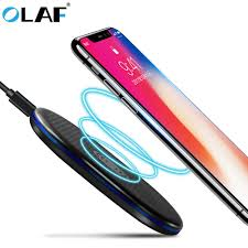 <b>Olaf</b> QI <b>Wireless Charger For</b> iPhone Galaxy 8 Plus X Qi Fast ...