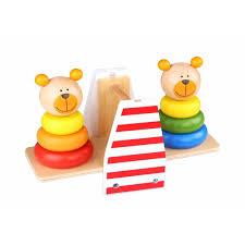 Игра баланс Медвежата Tooky Toy, цвет , артикул 269149, фото ...