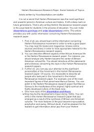 thesis harlem renaissance paper change management pdf dissertation thesis harlem renaissance paper spanish armada essay questions