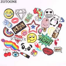 <b>ZOTOONE</b> Logo <b>Iron on Letters</b> Sequin Patches for Clothing ...