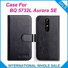 <b>Чехол BQ</b> 5732L Aurora SE 6 цветов, кожаный чехол-бумажник с ...
