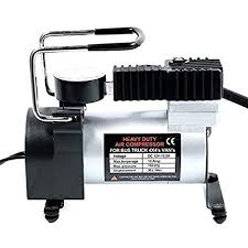 Catchin24 Heavy Duty <b>Metal</b> Electric Car Air Compressor Pump ...