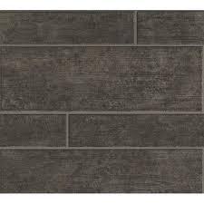 <b>Modern</b> Wood Stone Brick <b>Light Grey Wallpaper</b> Roll