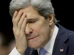 Image result for embarrassed john kerry