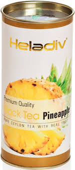 <b>Чай черный HELADIV HD</b> PINEAPPLE 100 gr Round P.T. купить в ...