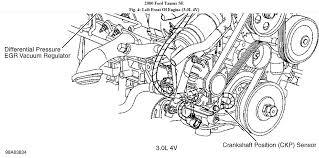 similiar 2007 ford taurus motor diagram keywords ford taurus ignition dist engine speedinputcircuit malfunction dohc