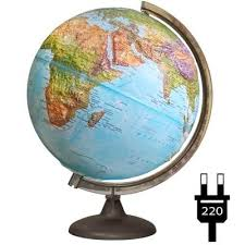 <b>Глобус физико</b>-<b>политический</b> с подсветкой <b>Глобусный мир</b> 320 мм