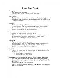essays format template essays format