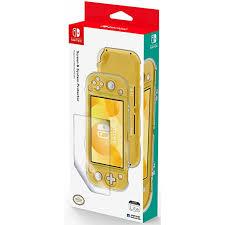 <b>Набор</b> Hori: <b>чехол</b> и защитная <b>пленка</b> для консоли Nintendo ...