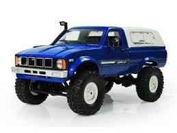 <b>Радиоуправляемая</b> машина <b>WPL</b> пикап Hilux 4WD 2.4G 1/16 RTR ...