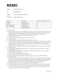 doc 700422 memo format word bizdoska com memo in word