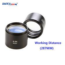 <b>Luckyzoom</b> ماركة المجهر أهداف <b>0.3X</b> wd 287 ملليمتر ستيريو المجهر ...