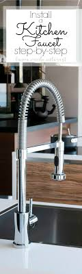 Changing A Kitchen Faucet How To Install A Kitchen Faucet Home Made Interest