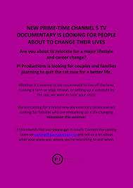 channel documentary looking for people about to change their channel 5 documentary looking for people about to change their lives