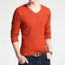 <b>2019 Autumn</b> New Sweater Korean Version Of the V-neck <b>Solid</b> ...