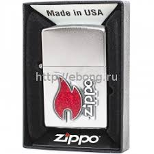 <b>Зажигалка</b> Zippo 28847 Zippo <b>Red Flame Бензиновая</b>
