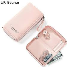 <b>UR BOURSE</b> Women Key Case Girls Keys Cover Organizer Case ...