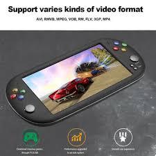 <b>PSP X16 7 inch</b> Screen Built-in 8GB Memory Retro Handheld Game ...