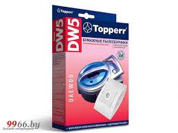 <b>Пылесборники бумажные Topperr DW</b> 5 5шт + 1 микрофильтр ...