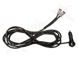 rigid installation accessories rigid industries rigid industries 12v cigarette lighter adapter