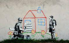 Kids Houses Peace <b>Banksy</b> Digital Art Fresh <b>Wallpaper HD</b> ...