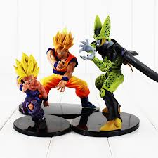 3Styles 12 <b>18cm Anime</b> Dragon Ball Z Figure Dramatic Showcase ...