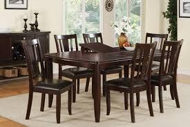 wood dining room table chairs aa  delightful espresso dining room table sets spbaa