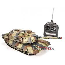 <b>Радиоуправляемый танк Huan Qi</b> 1:28 M1A2 Abrams, 27/40МГц ...