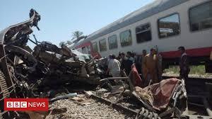 At least 19 killed <b>in</b> Egypt <b>train</b> crash - BBC News