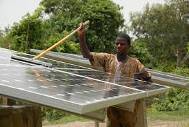 <b>Solar</b> Energy Brings Food, Water and <b>Light</b> to West Africa