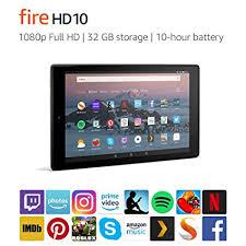 Fire <b>HD 10</b> - Amazon.ca - 1080p <b>Full HD</b>. 32 GB storage. <b>10</b>-hour ...