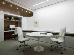 simple and neat office interior design ideas creative ideas for decorating office interior design using black leather office design