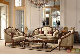 living room decor classic style luxury formal antique living room furniture comfortable look crystal lamp antique style living room furniture