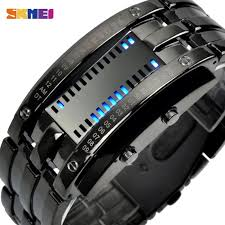 <b>SKMEI Fashion Creative Sport</b> Watch Men Stainless Steel Strap ...