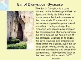 Image result for ear of dionysius