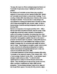 this essay will compare two different sociological perspectives  page  zoom in
