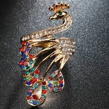 <b>Everoyal</b> New Arrival <b>Crystal</b> Color Animal Rings For Women ...