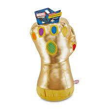 Marvel <b>Avengers Thanos's Infinity Gauntlet</b> Light Up Dog Toy, Large ...