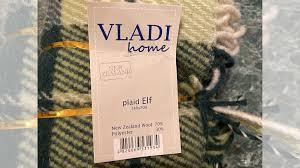 <b>Плед Vladi полутораспальный</b> (<b>140х200</b> см) шерсть 70 купить в ...