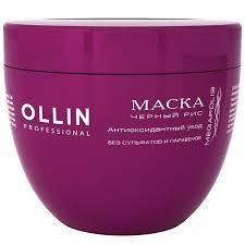 <b>Маска на основе чёрного</b> риса Ollin Megapolis Mask 500 мл