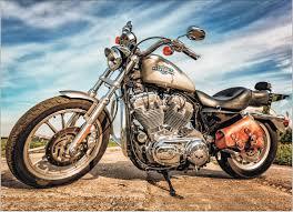 "<b>Алмазная мозаика</b> на подрамнике ""<b>Harley</b>-<b>Davidson</b> Sportster ..."