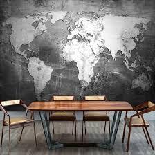 Shop <b>Custom Mural 3D</b> Wallpaper Vintage World Map <b>Creative</b> Wall ...