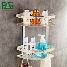 FLG <b>Space aluminum</b> bathroom racks bathroom bathroom shelf ...