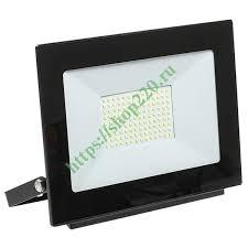 Купить <b>Прожектор</b> светодиодный <b>СДО 06-100</b> 100W 6500K ...