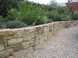 Small Picture How to Build a Retaining Wall with natural stone Gardening
