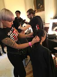 leading swindon hair salon recruiting for stylists and salon manager karoliina saunders hair design hairstylists in swindon deliver the goods at london fashion week