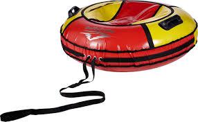 <b>Тюбинг ReAsfalto Rodeo</b>, 419128, красный, желтый, диаметр ...