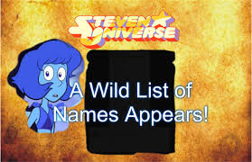 steven universe a wild list of s appears official steven steven universe a wild list of s appears official steven universe twitter